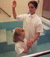 Крещение мормонов